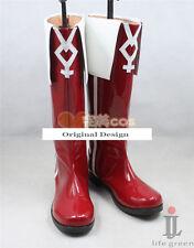 Puella Magi Madoka Magica Kyoko Sakura Boot Party Shoes Cosplay Boots
