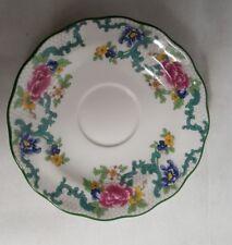 Royal Doulton Floradora Micro Porzellan / Geschirr  Blumendekor / Unterteller