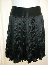 NWT WOMENS Grace Elements Skirt Black Fully Lined 10P