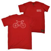 FB Cycling Tee - Words - Novelty Birthday Christmas Gift Present Mens T-Shirt