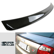 CARBON FIBER AUDI A4 B6 S TYPE BOOT REAR TRUNK SPOILER NEW 2002-2005