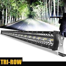 Offroad LED Fernscheinwerfer Scheinwerfer Light Bar 52zoll Flut Spot Combo PK 50