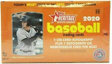 2020 Topps Heritage Minor League Hobby Box - Factory Sealed - 2 Hits Auto