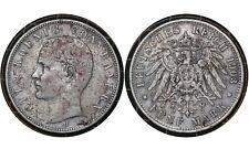 5 Mark 1903 Kingdom of Bavaria (German states) Silver Coin / King Otto # 915