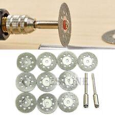 New Rotary Tool Circular Saw Blades Cutting Wheel Discs Mandrel Cutoff