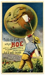 TICKLE THE EARTH WITH A HOE - Great Card!