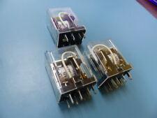 NAIS  HC2-H-DC12V Qty of 3 per Lot Relay   7A 1/6HP 125/250VAC  3A 30VDC  AROMAT