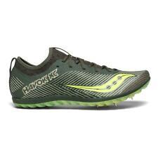 SAUCONY Men's Havok XC2 Cross Country Track Spike Shoe Green/Citron $85