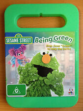 SESAME STREET ~ BEING GREEN ~ ELMO GOES GREEN ~ ALMOST AS NEW DVD