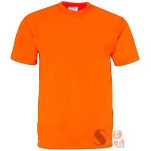 Hi Vis T Shirt Non ANSI Short Sleeve Safety High Visibility Fast Dry Work Shirt