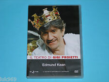 GIGI PROIETTI Edmund Kean – Dvd Fiorenzo Carpi Teatro Otello Amleto Re Lear