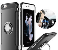 Shockproof Case for iPhone 7 6s 8 Plus X  Xs Max XR Silicone,Hard Back cover