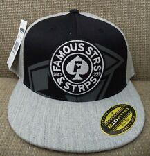 FAMOUS STARS & STRAPS BALANCE 210 S/M  6 7/8 - 7 1/4 HAT CAP