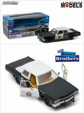 THE BLUES BROTHERS 1974 DODGE MONACO BLUESMOBILE Die Cast 1/24 Greenlight New