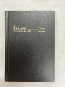 Collins Kingsgrove 2021 - 2022 Financial Year Diary A6 Week to View Black 36M4