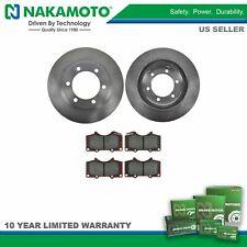 Nakamoto Front Posi Ceramic Disc Brake Pad & Rotor Kit for Tacoma Pickup 4Runner