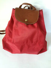 LONGCHAMP Pliages Sac A Dos  Red Large Drawstring Backpack