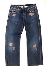 Energie 3SQJ1R3 Italian Jeans Size 31 Loose Straight Button Fly (v)