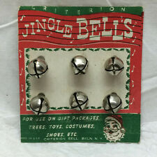 Vintage Jingle Bell Criterion Bell Co. Made in Usa Original Card Packaging