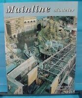 HO,S,N,O SCALE MAINLINE MODELER MAGAZINE JUNE 1993 TABLE OF CONTENTS PICTURED
