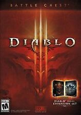 PC ACTION-DIABLO III BATTLE CHEST (DIABLO III & REAPER OF SOULS)  PC NEW