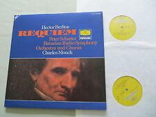 DG 2726 050 BERLIOZ Requiem Schreier Charles Munch vinyl 2LP