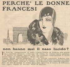 W4317 Cipria Petalia di TOKALON - Pubblicità del 1930 - Vintage advertising