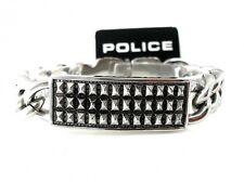 POLICE Herren Band Armband Panzer SKULL Kette Edelstahl RAGE PJ24695BSS.01.S NEU