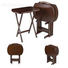 Walnut TV Tray Tables | eBay