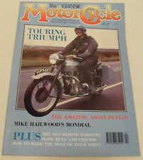 Classic MC 4/90 Mondial, Ascot-Pullin, Triumph Tiger 100, Quadrant Autocyclette