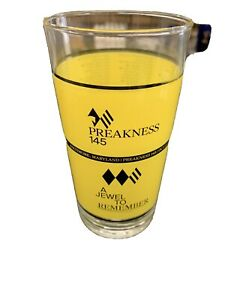 2020 PREAKNESS STAKES GLASS / OCT 3 / SWISS SKYDIVER WINS ONLY 5,000 Made 🐴🐴🐴