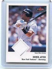 2003 FLEER TRADITION (NO #) DEREK JETER JERSEY CARD, NEW YORK YANKEES, 112614