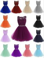 Ladies Homecoming Graduation Prom Dress Cocktail Bridesmaid Formal Mini Dresses