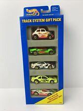 NIP 1994 Hot Wheels 5 Car Gift Pack Track System Porsche 959 Vw Baja Bug Tbird