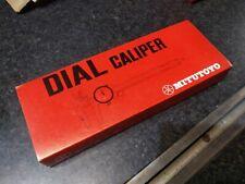 Mitutoyo 505 629 dial calliper 4 inch