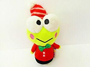 "Hallmark ITTY BITTYS Sanrio HOLIDAY KEROPPI 5"" Plush Stuffed Animal Toy"