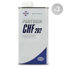 Fuchs Pentosin CHF 202 Hydraulic Fluid - 3 x 1 Litre 3L