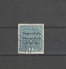B3151 - VENEZIA GIULIA 1918 -  N. 15 - USATO