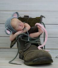 reborn baby dolls, Wee Mouse By Laura Lee Eagles, Mini Reborn ,ONLY CUSTOM ORDER