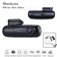 Blueskysea B1W Car Dash Camera Vehicle DVR Parking Mode & Hardwire Power Adapter