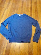 Crewcuts Boy's Blue Crewneck Sweater, Size 8