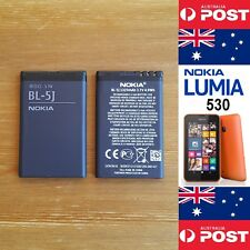 NOKIA LUMIA 530 520 Original Battery BL-5J 1320mAh Good Quality - Local Seller !