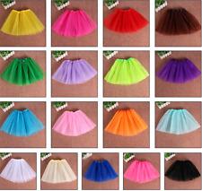 2-7 YRS Girls Kids Tutu Skirt Fancy Dress Ballet Dance Photo Prop Costume Party