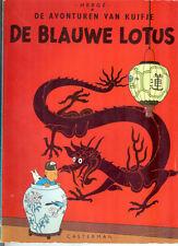 Kuifje De Blauwe Lotus 1966 Hard Cover