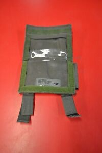 Eagle Industries GRG Ranger Green Grid Reference Map Chest Pouch - SEAL DEVGRU