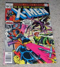 X-men 110 VF+   Colossus Wolverine Nightcrawler Storm LOT MCU