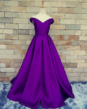 Long Prom Formal Dresses Bridesmaid Party Evening Ball Gown Custom Made Size