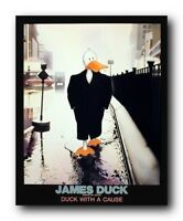 James Dean - Duck with a Cause Wall Decor Art Print Poster (16x20)