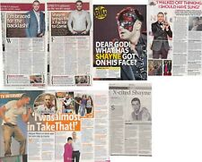 SHAYNE WARD : CUTTINGS COLLECTION - interviews