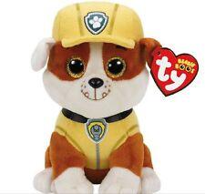 Ty Paw Patrol Rubble Plush Bulldog Dog Beanie Babies 3+, Boys & Girls